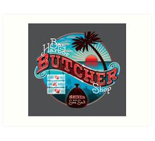Bay Harbor Butcher Shop Art Print