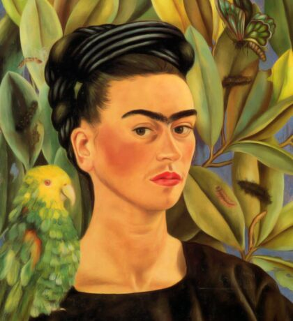 Frida Kahlo Self-portrait with Bonito Sticker