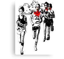 Humorous Running Motivation Canvas Print