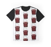 Chocolate Pudding - Cups on Cups Pixel Art Graphic T-Shirt