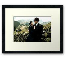 Claire and Frank Framed Print