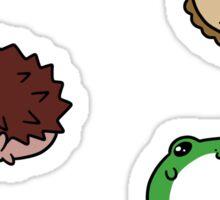 Forest Critter Blobs! Sticker