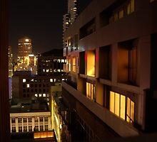 Melbourne Skyline At Night by Derwent-01