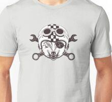 Vintage wolf motorcycle logo Unisex T-Shirt