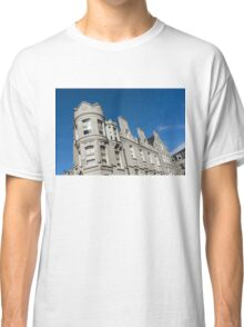 Silver City Architecture - Crenellated Castle Style Facade in Aberdeen  Classic T-Shirt
