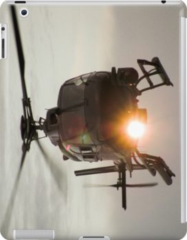 Helicopter iPad Case by Derwent-01