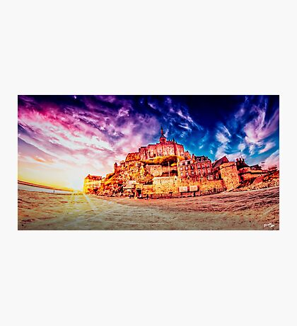 Mont Saint Michel Photographic Print