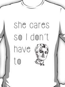 She Cares T-Shirt