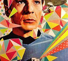 Star Trek Spock Geometric Collage by deepspacequeer