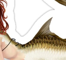 Tarpon Mermaid Sticker