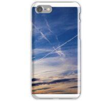 Contrails in the Sky iPhone Case/Skin