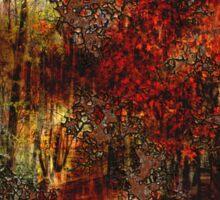 Autumn Abstract Sticker