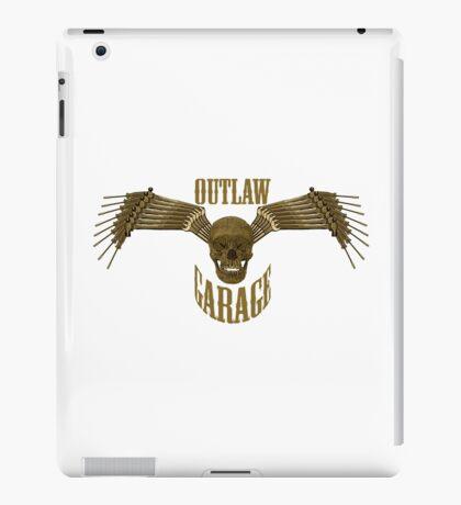 outlaw garage iPad Case/Skin