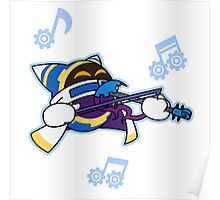Magolor with Violin Poster