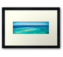 Arlington Reef and Green Island Framed Print