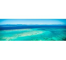 Arlington Reef and Green Island Photographic Print