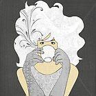 High Tea Platinum Blonde by Janet Carlson