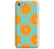 Orange Fruit Pattern iPhone Case/Skin