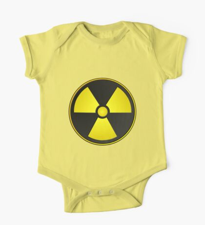 Radioactive Fallout Symbol Geek One Piece - Short Sleeve