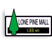 Lone Pine Mall Canvas Print