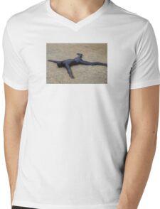 Tough Landing Mens V-Neck T-Shirt
