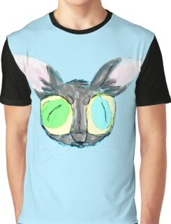 'Em Big 'Ol Cat-Eyes Graphic T-Shirt