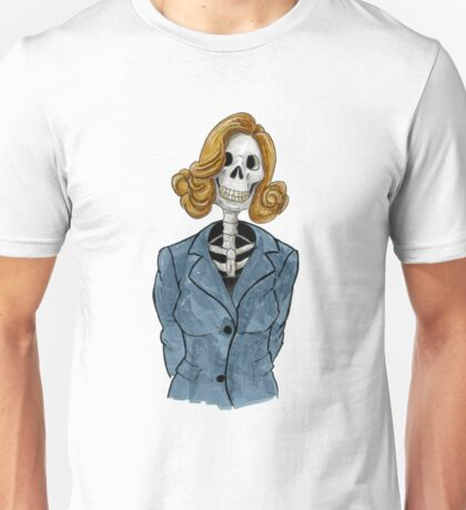 You don't have to be dead to work here Unisex T-Shirt