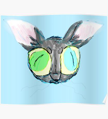 'Em Big 'Ol Cat-Eyes Poster