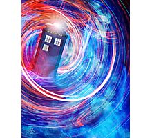 The Tenth Doctor's TARDIS Photographic Print