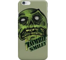 Zombie Smiley  iPhone Case/Skin