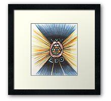 Lux Edo: Sentient Sacrement (color version) Framed Print