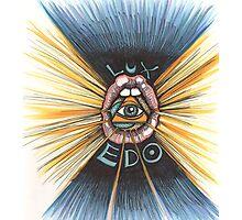 Lux Edo: Sentient Sacrement (color version) Photographic Print