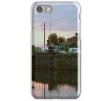 Evening at Castleford Lock........! iPhone Case/Skin