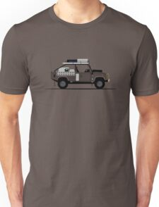 A Graphical Interpretation of the Defender 110 High Capacity Pick Up Tomb Raider Unisex T-Shirt