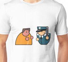 Prisoner vs Guard - PA Unisex T-Shirt