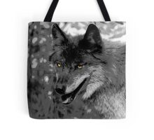 Alpha Male Wolf Tote Bag