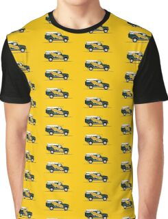 A Graphical Interpretation of the Defender 110 Hard Top Dormobile Graphic T-Shirt