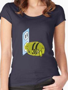 Charging Elekid Women's Fitted Scoop T-Shirt