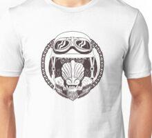 Baboon vintage motorcycle logo Unisex T-Shirt