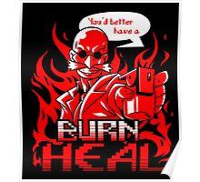 Burn Heal Poster