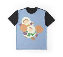Smash Bros - Ice Climbers Purple Gloves Graphic T-Shirt