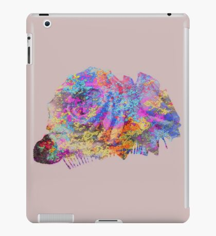 Rose Colorful Brush iPad Case/Skin