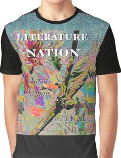 Literature Nation - Maria Damon and Miekal And Graphic T-Shirt