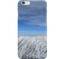 Wasatch Range-Salt Lake City, Utah iPhone Case/Skin
