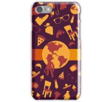 adventurous life design iPhone Case/Skin