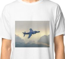 Harrier Jet in the Clouds Classic T-Shirt