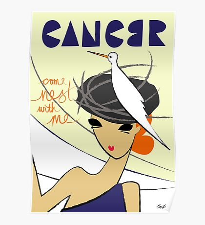 The Horoscope Series - Cancer Poster