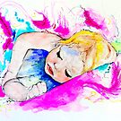 Sleeping Baby by Michelle Potter