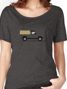 A Graphical Interpretation of the Defender 110 Pick Up Women's Relaxed Fit T-Shirt