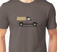 A Graphical Interpretation of the Defender 110 Pick Up Unisex T-Shirt